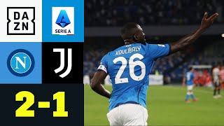 Koulibaly entscheidet Fehlerfestival: Neapel - Juventus 2:1 | Serie A