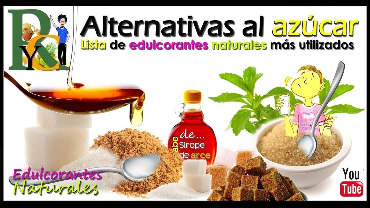 Endulzantes Naturales y Edulcorantes