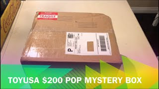 $200 Funko Pop! Mystery box from ToyUSA. Did I just lose a bunch of money on 4 Pops??