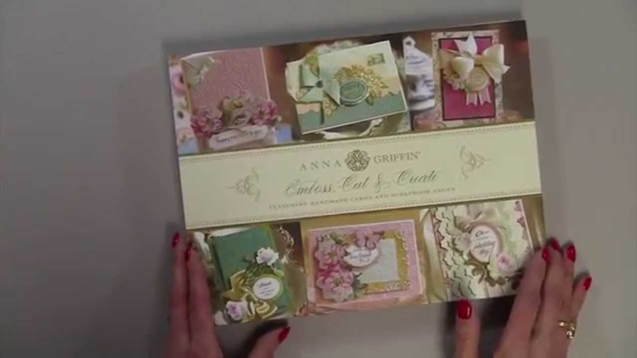 Anna Griffin Emboss Cut Amp Create Idea Book Review YouTube