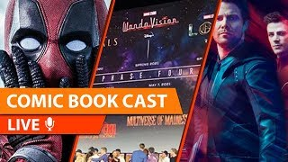 MCU Reveals Phase 4 & 5, Blade is Back, Deadpool in Limbo & More   CBC