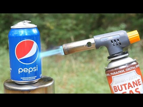 PEPSI VS GAS TORCH