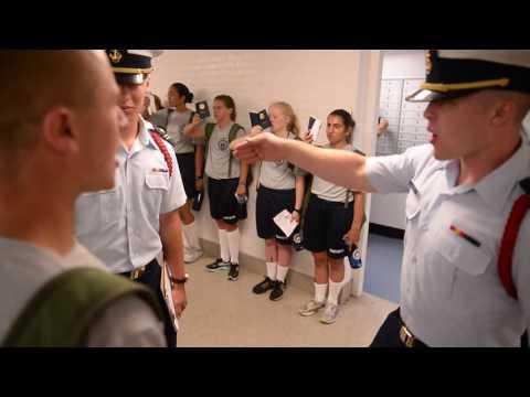 Swab Summer begins for Coast Guard Academy class of 2020