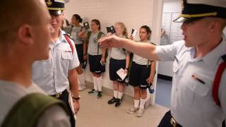 Swab Summer begins for Coast Guard Academy class of 2020