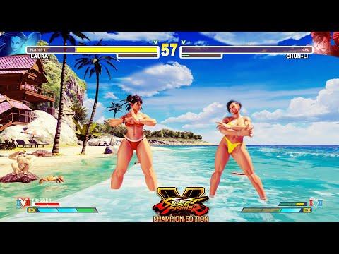 Street Fighter V: CE Laura Vs Chun Li PC Mod #3