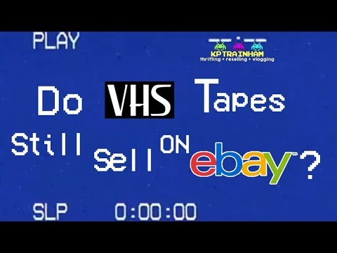 Do VHS Tapes Sell On EBAY?  How You Can Make Money With This Dead Media!