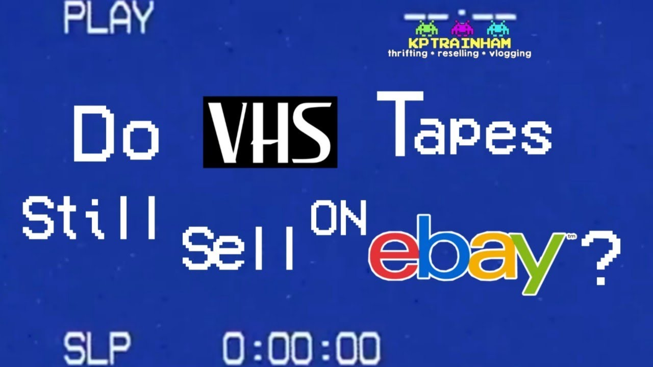 Sell Vhs Tapes >> Do Vhs Tapes Sell On Ebay How You Can Make Money With This Dead Media