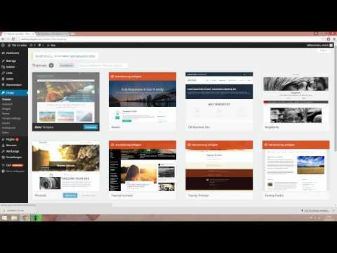 WordPress Design / Theme ändern