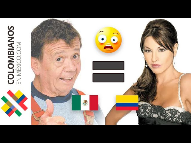 5 Coincidencias INCREÍBLES 😱 Colombia - México