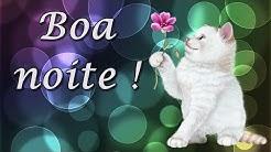 Mensagem de boa noite - TEMPO DE SER FELIZ ! - para whatsapp, facebook - gif boa noite