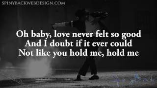 Michael Jackson Ft. Justin Timberlake - Love Never Felt so good [Lyrics On Screen]