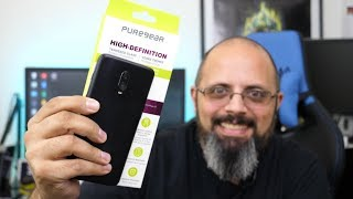 Official @Oneplus 6T Glass Screen Protector From @TMobile & PureGear Review, Case, Fingerprint Test