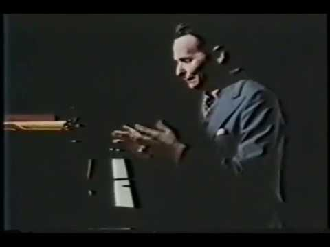 Pianist Byron Janis explains Chopin's five-finger position & exercises