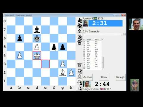LIVE Blitz #2085 (Speed) Chess Game: QGD: classical variation (5.Bf4)