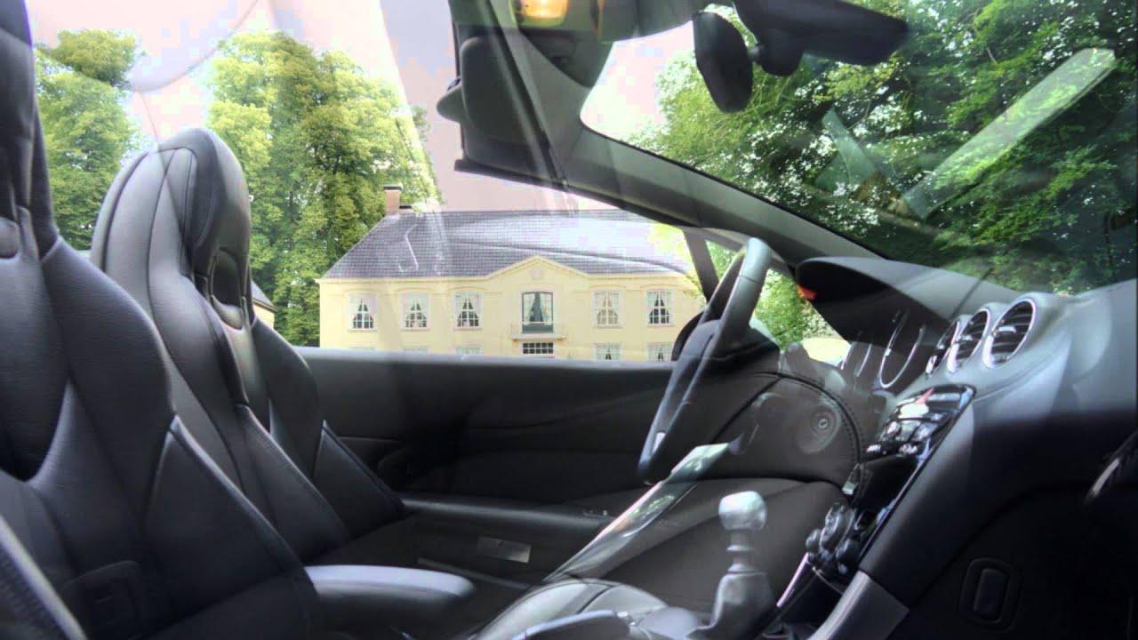 Peugeot 308 CC Black & White Edition - YouTube