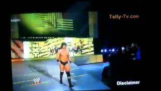 Derrick Bateman gets Introduced by Tony Chimel.