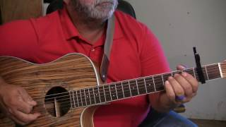 How to Play - Either Way Embellishments by Chris Stapleton Detail guitar lesson-Tutorial