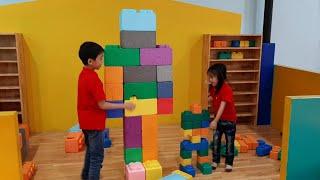Win Tin | đồ chơi xếp hình | robot khổng lồ bằng lego xốp