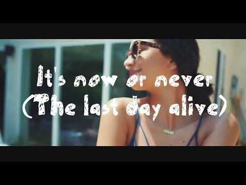Last Day Alive  Official Lyrics video The Chainsmokers ft  Florida Goregia Line