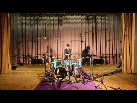 Animals As Leaders - The Brain Dance (Drums, Piano, Trumpet cover)