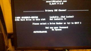 Unlock XBOX HDD Using XBOXHDM