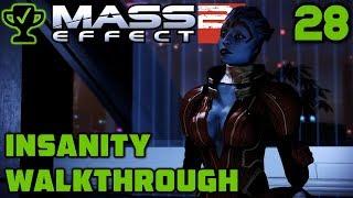 Recruiting Justicar Samara - Mass Effect 2 Walkthrough Ep. 28 [Mass Effect 2 Insanity Walkthrough]