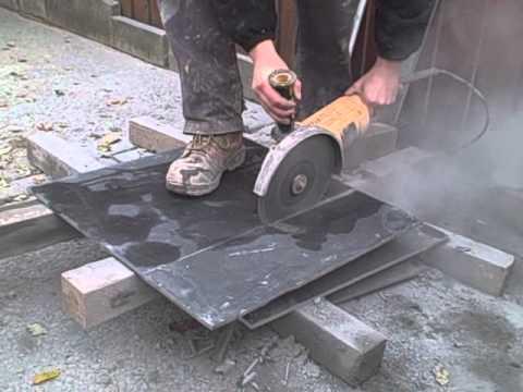 Cutting Slate Tile   Tile Design Ideas