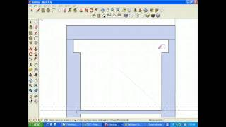 Making 2d Treasure Box Plans In Sketchup