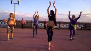 Уроки танцев для начинающих. Восточные танцы на улицах Нижневартовска
