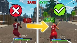 'NEW' TECHNIQUE (cheat) for SWITCHER and TIRER INSTANTANEMENT (0.01s) Fortnite Battle Royale