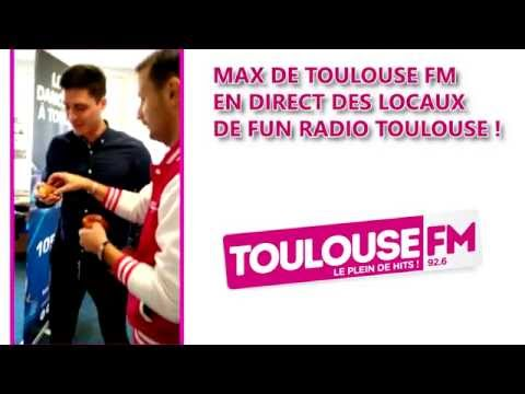 TOULOUSE FM PAIE SA CHOCOLATINE A FUN RADIO TOULOUSE !!!