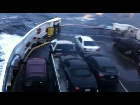 Crazy Bowen Island ferry ride/Jaguar fail