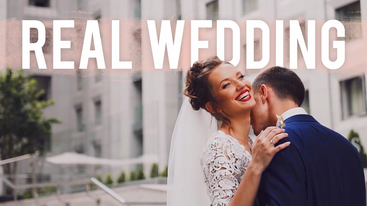 Real Weddings Youtube: Real Wedding: Dima + Anya
