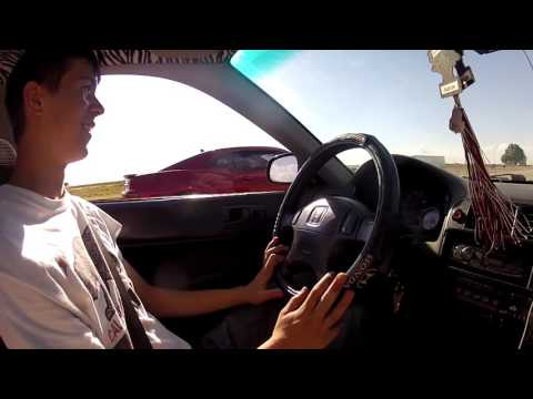 Racing Random People in the Turbo Civic