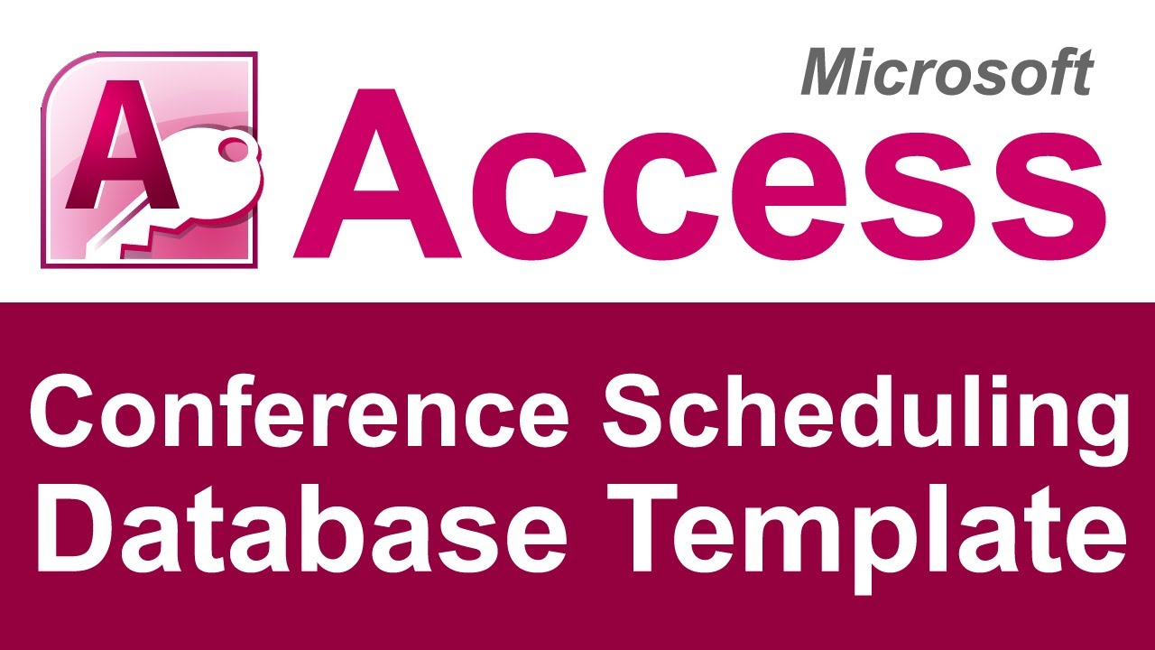 Microsoft Access Conference Room Booking Database Youtube