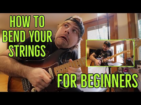 how to bend your strings (for beginners)