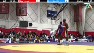 120 кг. Mijain Lopez vs Victor Asprilla