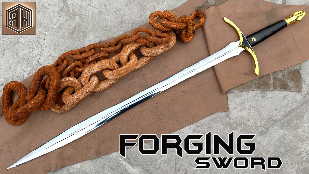 Download Forging a SWORD out of Rusted Iron CHAIN
