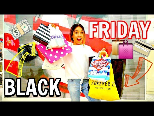 BLACK FRIDAY 2018 | No budget shopping vlog