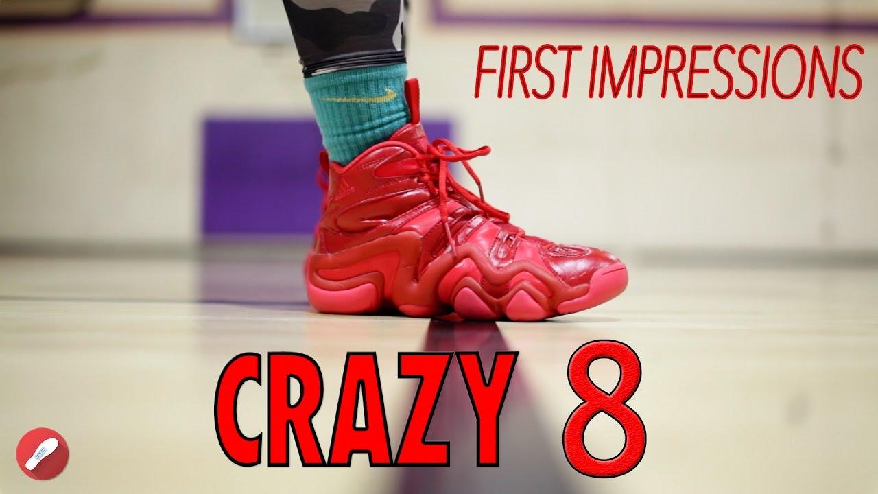 ¡Adidas Crazy 8, primeras impresiones!YouTube