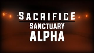 THE SACRIFICE SANCTUARY? [ROBLOX FINALLY]