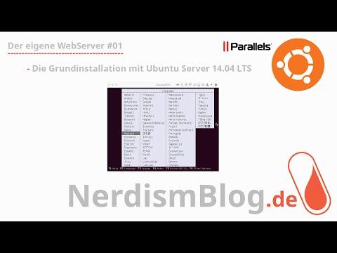 Der eigene WebServer #01 - Die Grundinstallation
