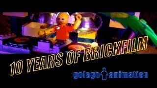 10 YEARS OF BRICKFILM golego 2003-2013 FILM-REEL