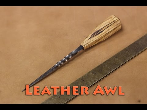 Born to Forge - Forged Leather Awl