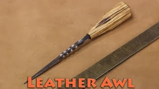 born to forge forged leather awl