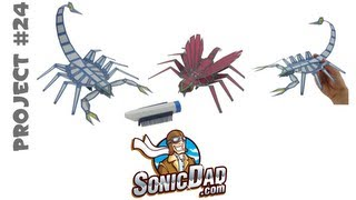 Sonic Robot Bugs - SonicDad Project #24