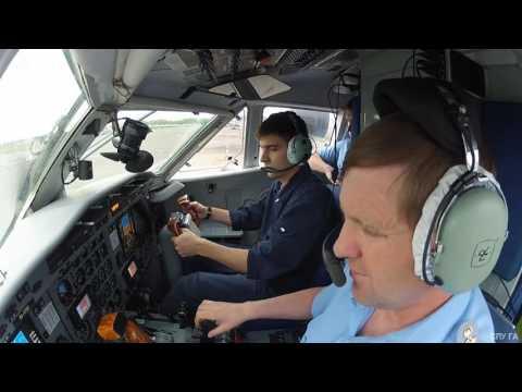 Как заводится самолет