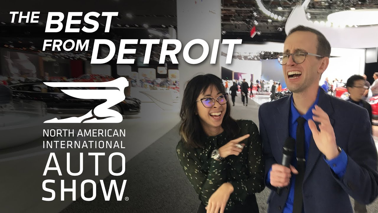 The Best Cars and Trucks of the 2018 Detroit Auto Show - Dauer: 1 Stunde, 26 Minuten