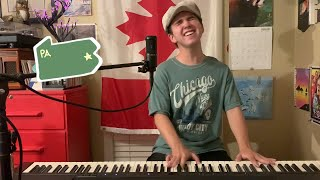 Allentown - Billy Joel | Piano & Vocal Cover by Jack Seabaugh