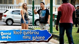 You broke my iphone Prank | Você quebrou o meu iphone
